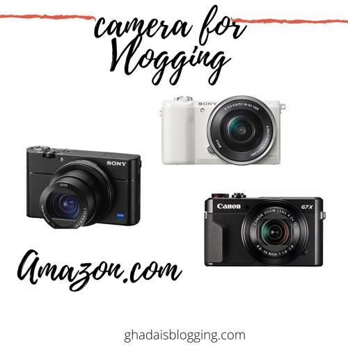 camera for Vlogging in you tube