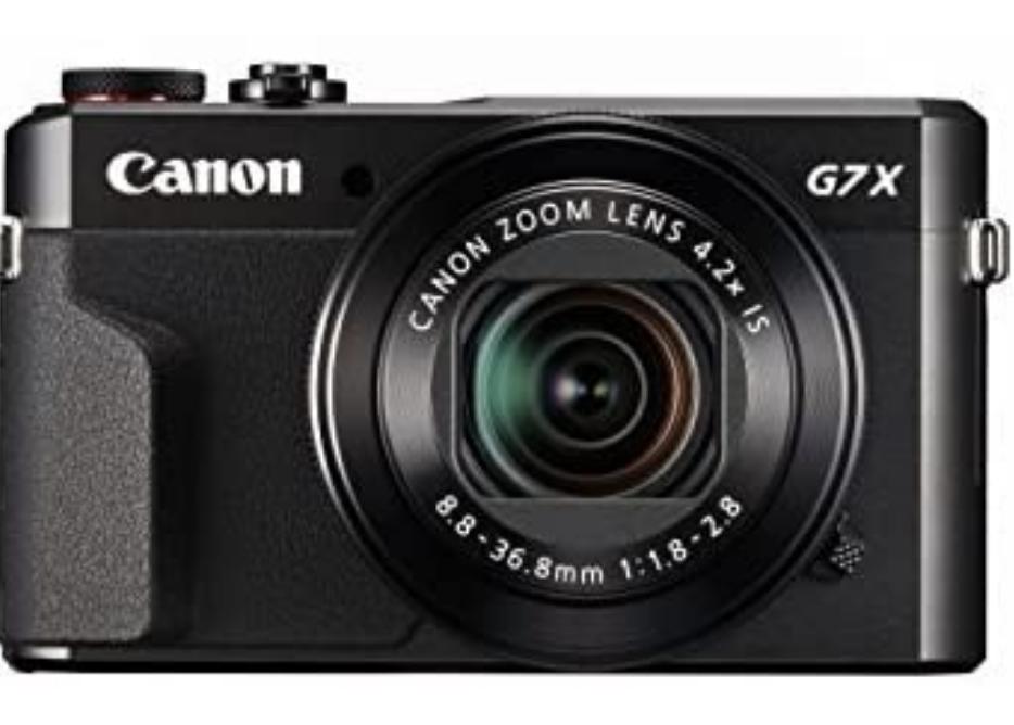 Canon G7X Mark II best camera for blogging