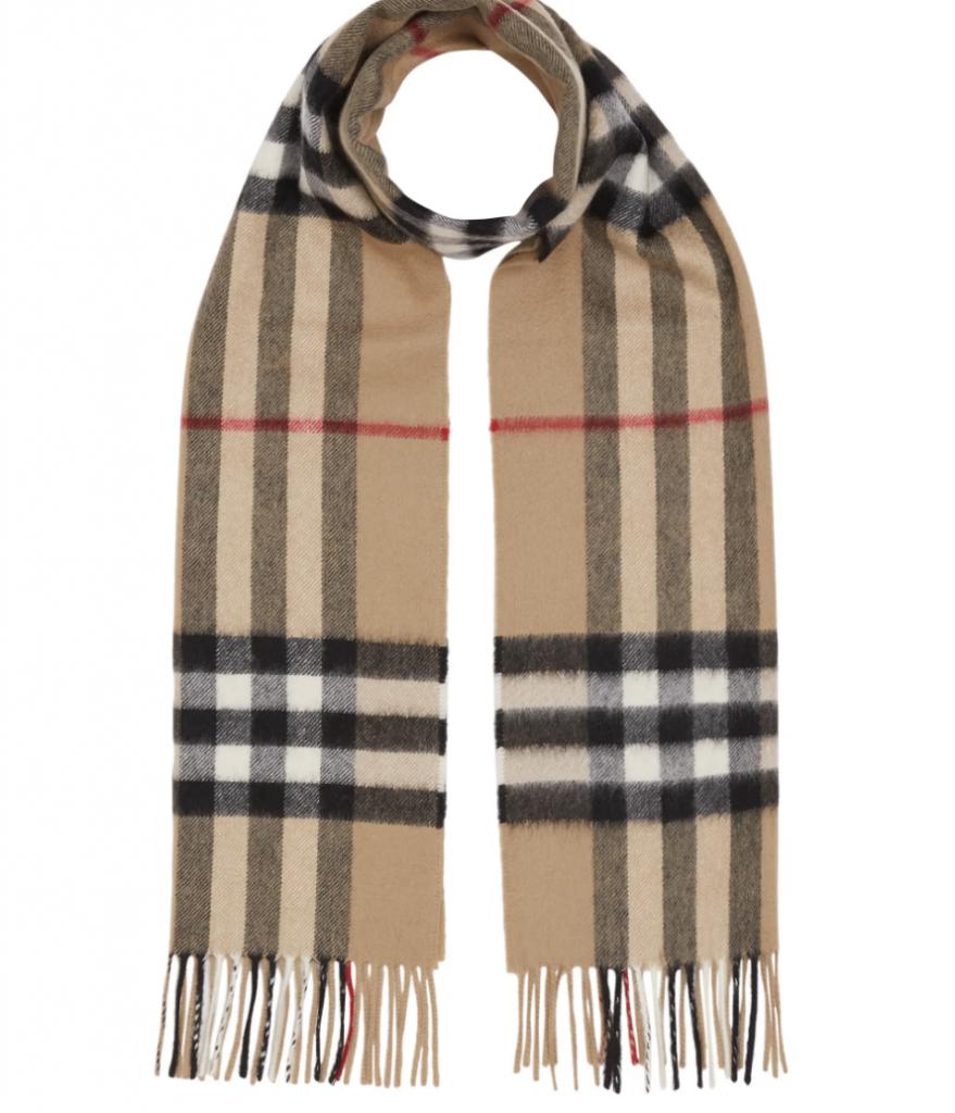 burberry scarf kashmier