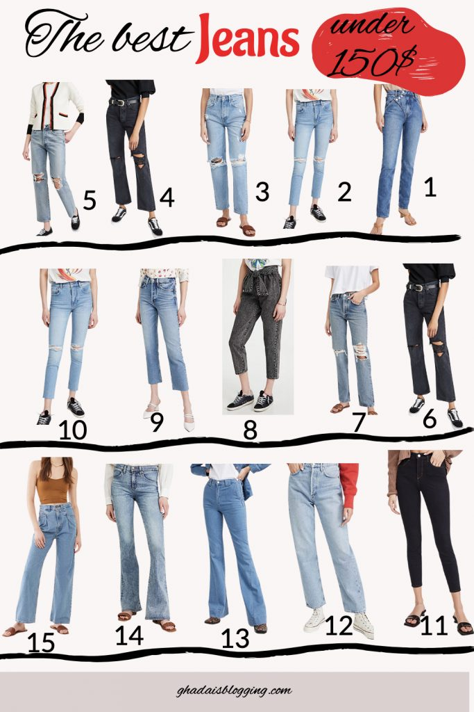 jeans for under 150$