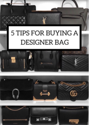 TIPS FOR BUYING A DESGINER BAGS