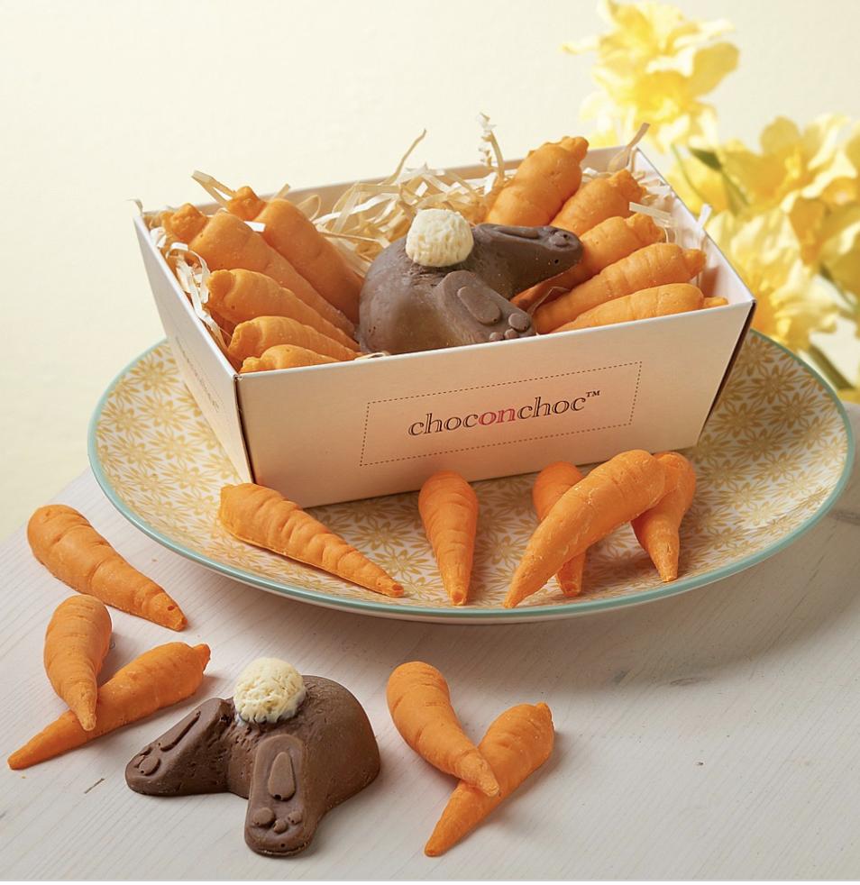 Carrot & Bunny Butt Chocolates