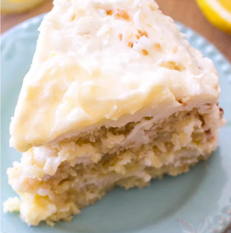 cocunut and lemon cake