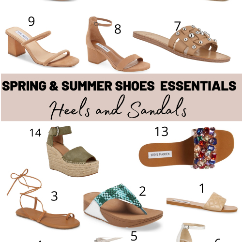 shoes and heels essetials for summer